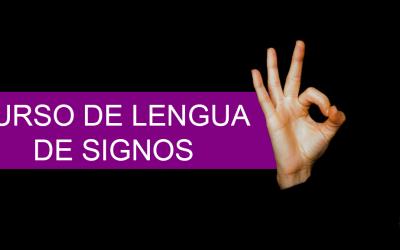 Curso de Lengua de Signos