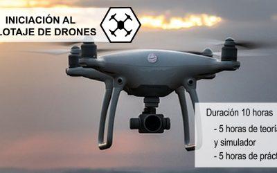Taller Iniciación al Pilotaje de Drones